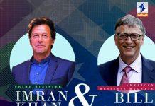 Imran Khan talks to Gates, emphasizes resumption of anti-polio drive