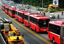 Metro bus service resumes in Rawalpindi-Islamabad and Lahore