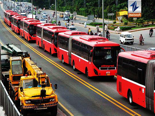 Metro bus service resumes in Rawalpindi-Islamabad and Lahore