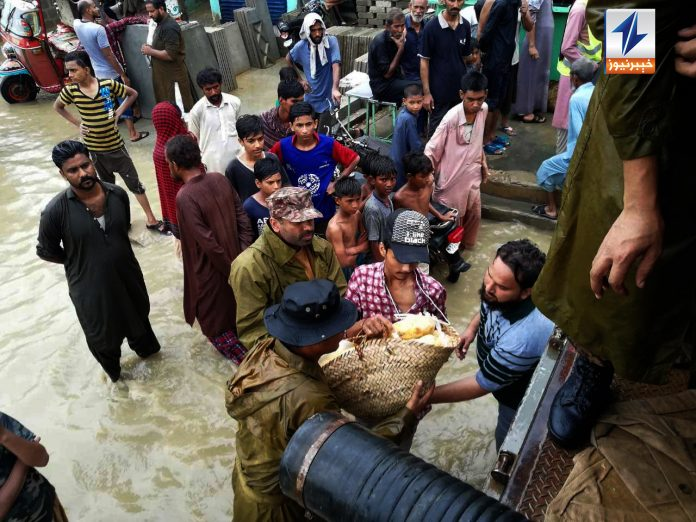 Pak Army comes to rescue as Lath, Thado dams overflow after rain batters Karachi