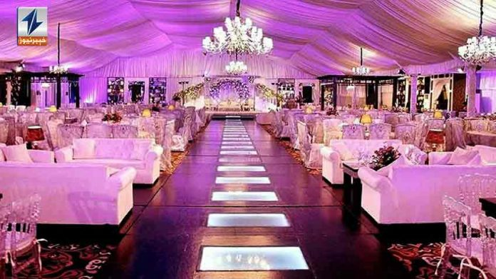 KP Govt notifies opening of wedding halls across province from today