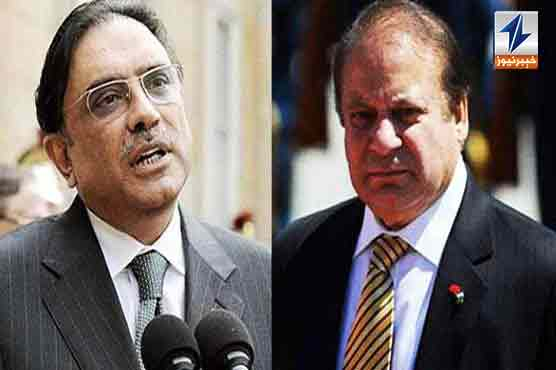 Zardari, Nawaz lash out at govt in APC address
