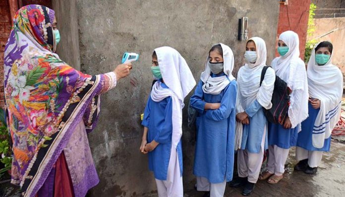 Reopening of schools in KP has resulted in 225 covid-19 cases