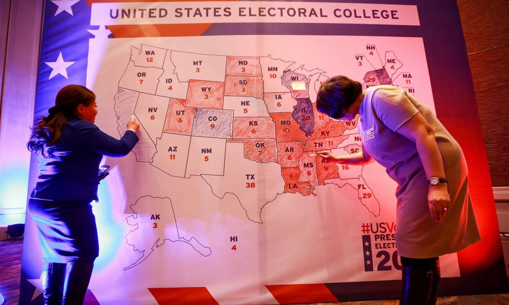 'Too close to call': US election hinges on tight races in battleground states