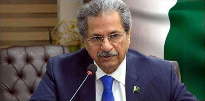 Shafqat Mahmood directs to formulate Pakistan Education Policy 2021