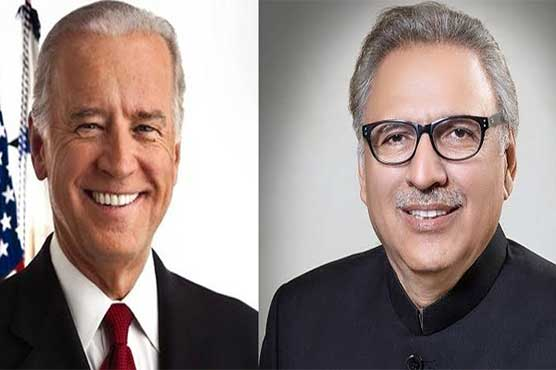 Joe Biden felicitates Dr. Arif Alvi on Pakistan Day