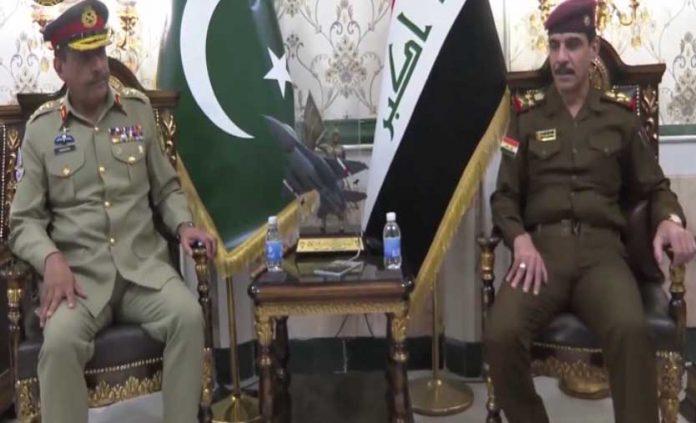 CJCSC, Iraqi Defence authorities discuss regional security situation