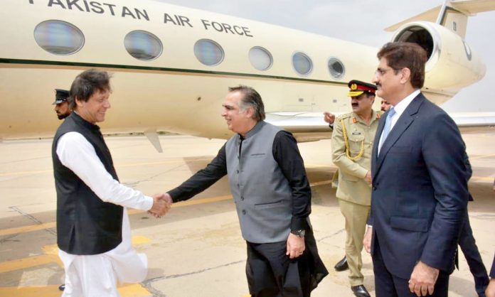 PM Sindh Visit